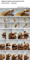 Making figurine hand tutorial part 2