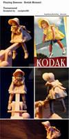 Playing Seesaw - Kodak Moment