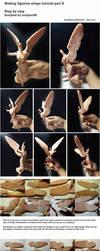 Figurine WIP/ tutorial part 4 wings by sculptor101