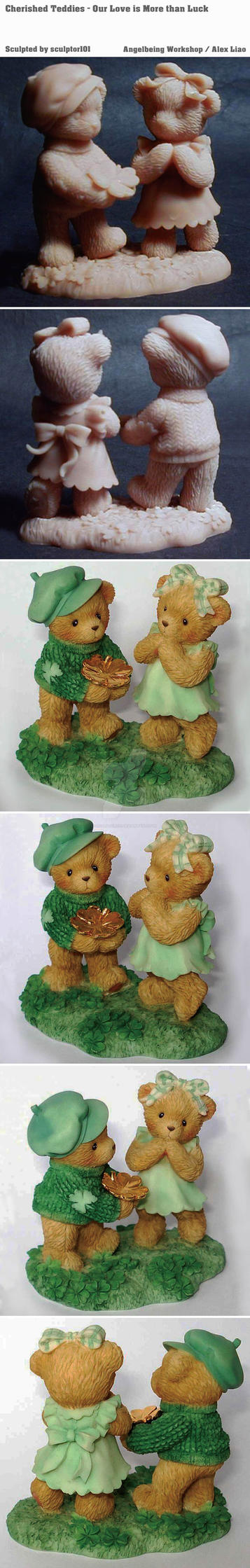 Cherished Teddies - Our Love is More than Luck by sculptor101
