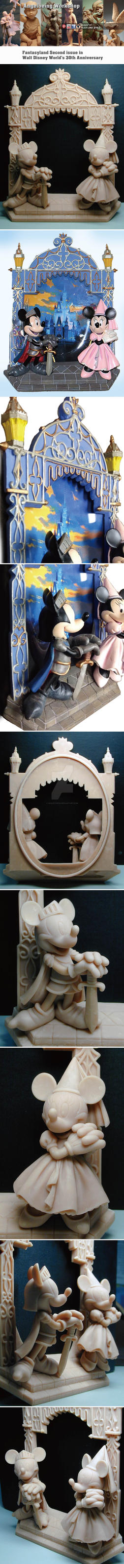 Fantasyland Second Issue Walt Disney World Gate by sculptor101