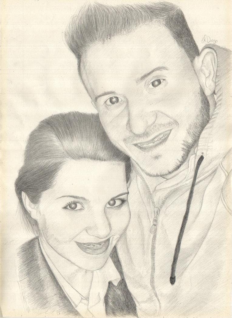 Couple Portrait by ElDiogo