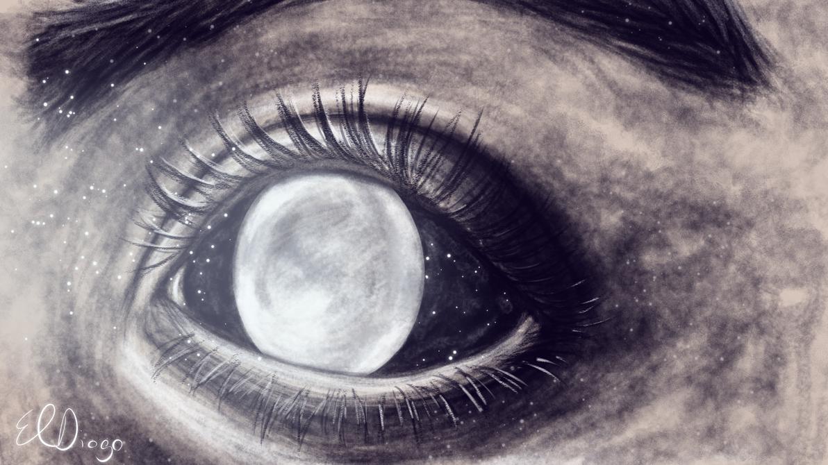 Moon eye by ElDiogo