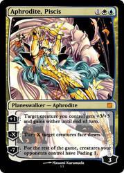 Magic: Aphrodite, Piscis by OokamiCloud