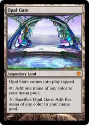 Magic: Opal Gate by OokamiCloud
