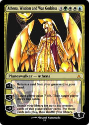 Magic: Athena by OokamiCloud