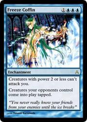 Magic: Freeze Coffin by OokamiCloud
