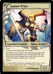 Magic: Jeanne D'Arc by OokamiCloud