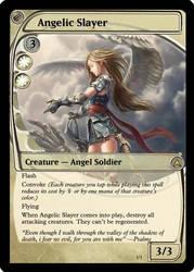 Magic: Angelic Slayer by OokamiCloud