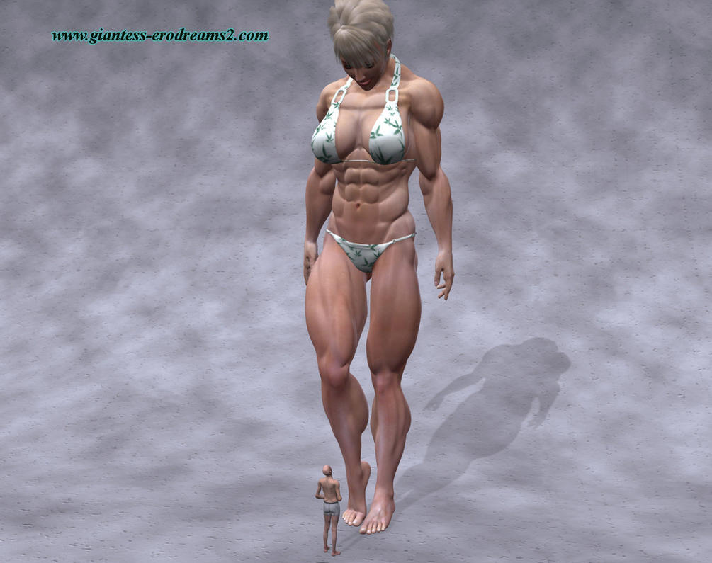 from Milo muscle girl vs man porn