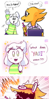 Asundertale - a Lucky Star reference