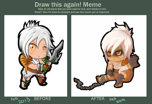 Draw this again - Riven