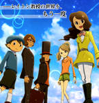 Once again the world of Professor Layton