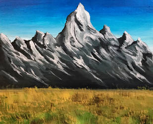 Mountain Range by peach-pies