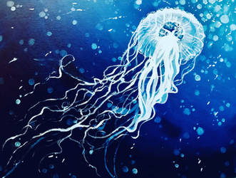 Jellyfish by peach-pies