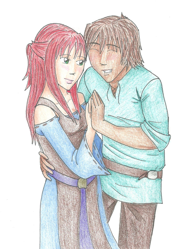 Romeo and Juliet by Lunae-Ariae