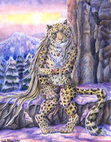 Lonely Amur Leopard by autumnjaguar