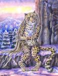 Lonely Amur Leopard