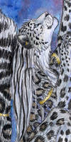 Snow Leopard Bookmark