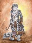 Snow Leopard Archer