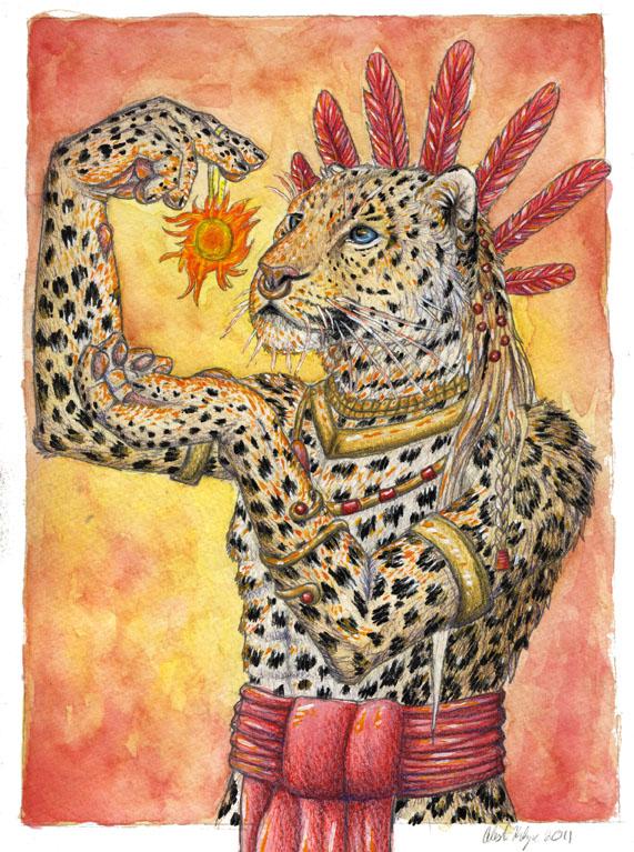 Sun God by autumnjaguar