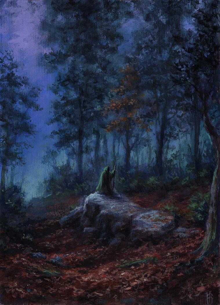 Deep Woods' Sorcerer by Irbeus