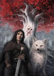 Jon Snow by Irbeus