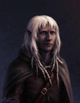 Dark elf character