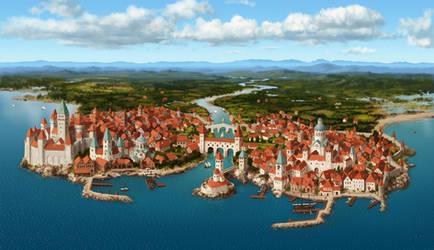 Port town [commission]