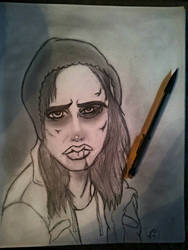 Rough Night - Jessica Jones Sketch by geekably