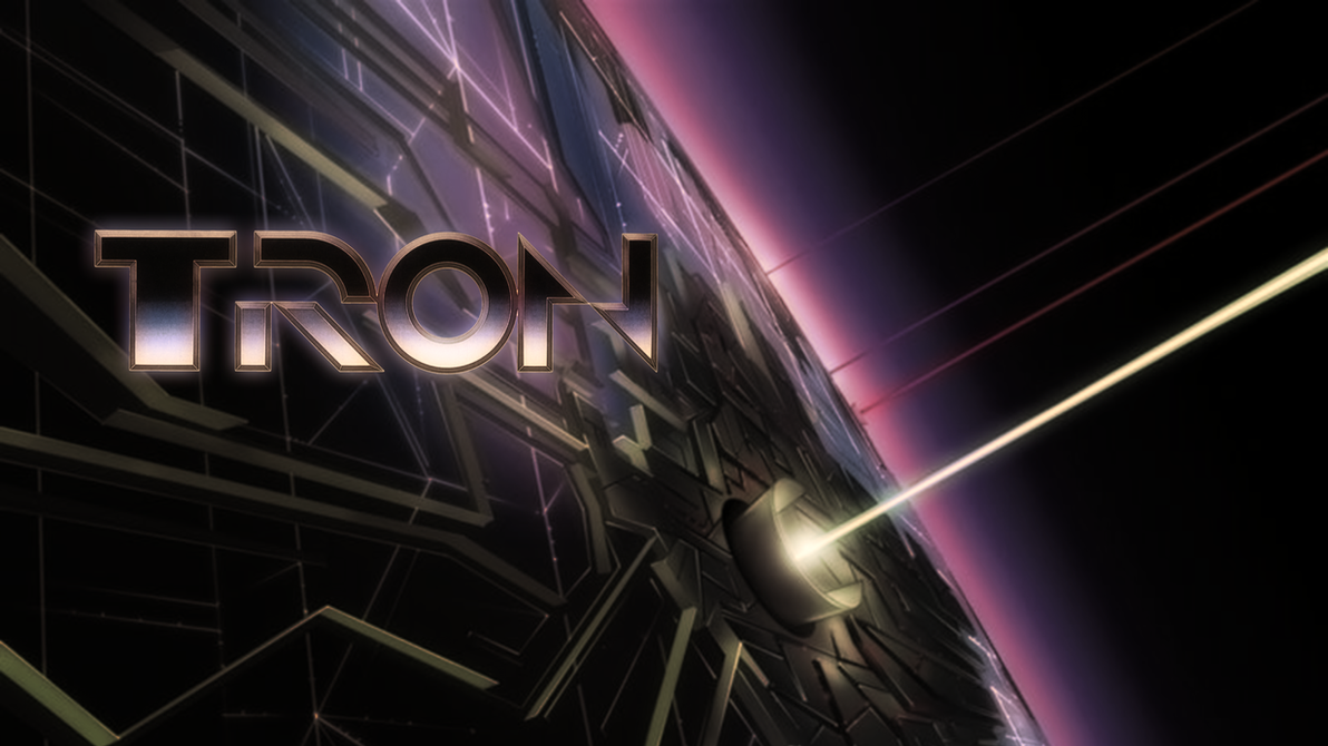 Classic Tron Wallpaper HD by ProfessorAdagio