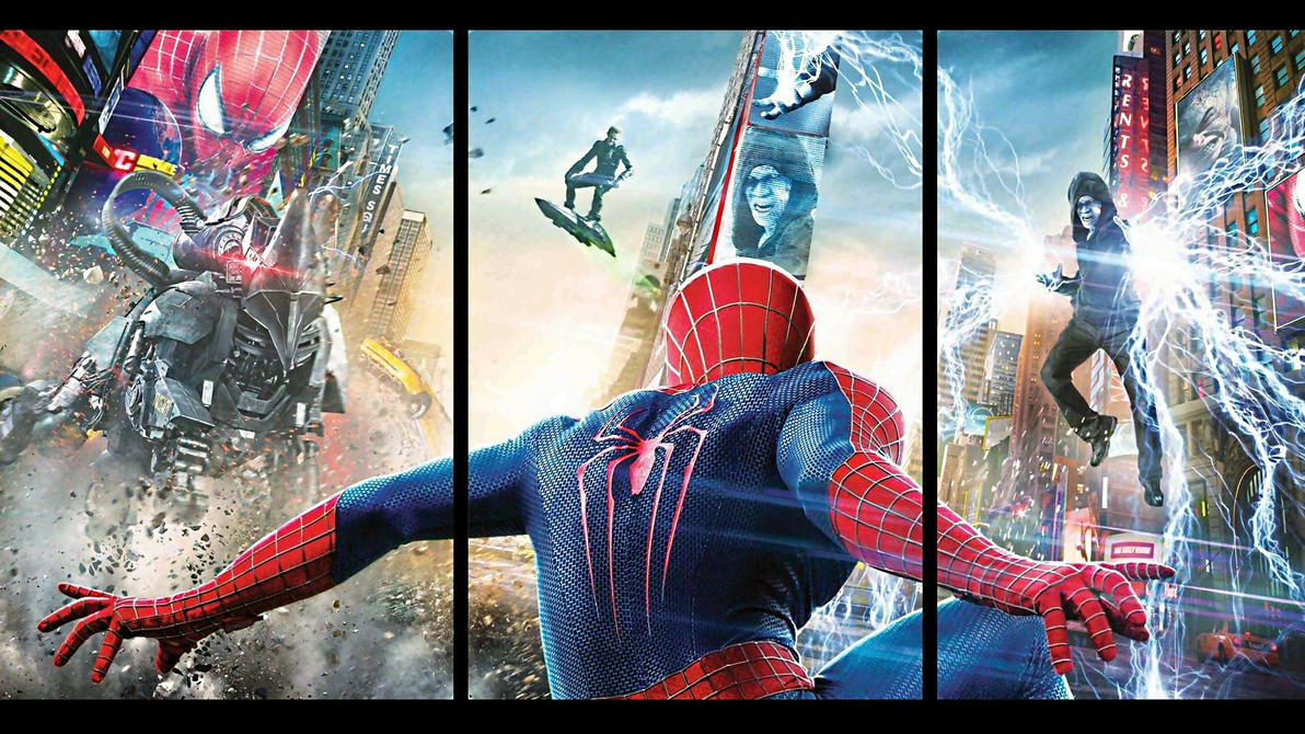 The Amazing Spider-Man 2 Movie Poster Wallpaper #1 by ProfessorAdagio