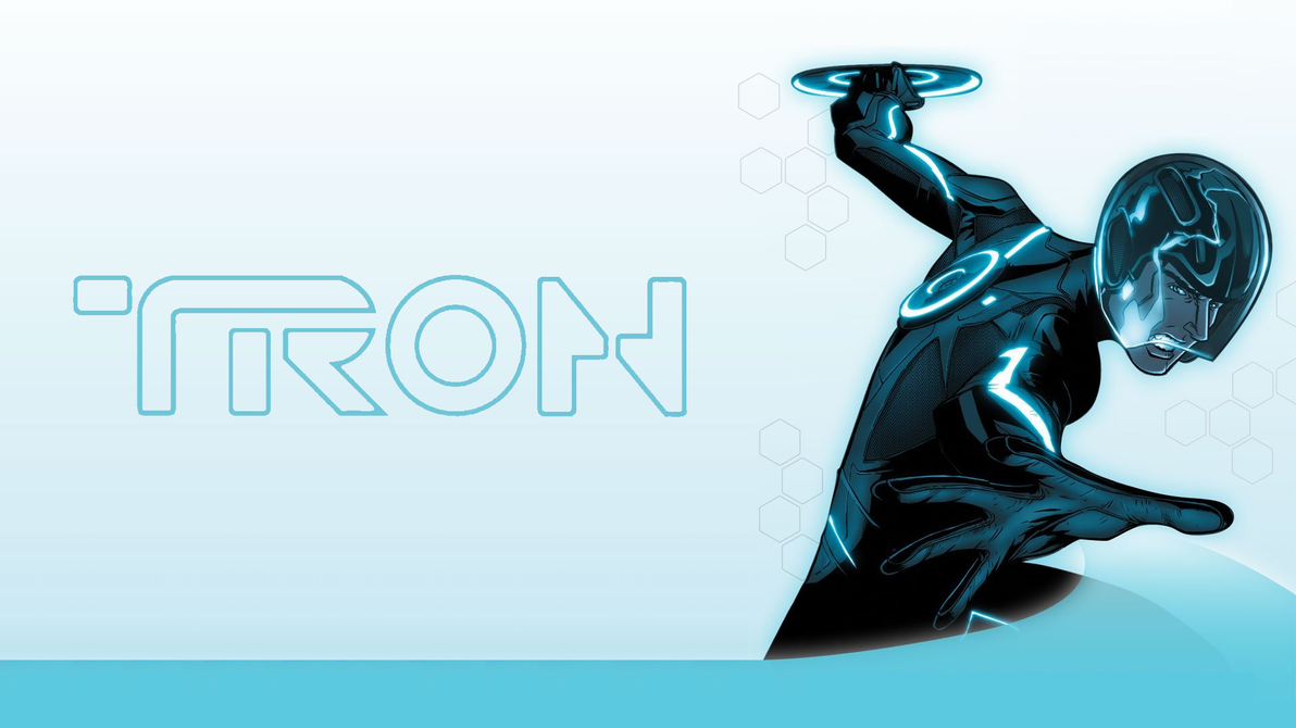 Tron Animated Wallpaper by ProfessorAdagio