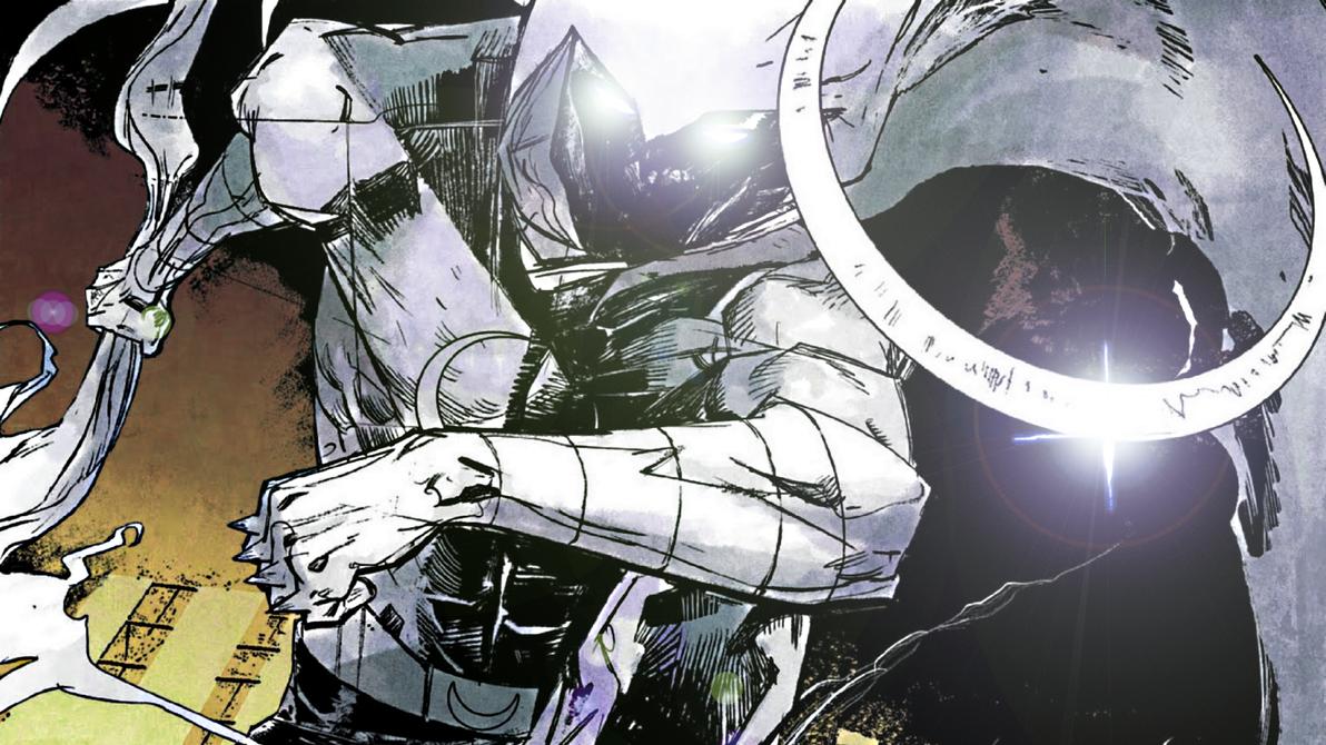 Moon Knight by ProfessorAdagio