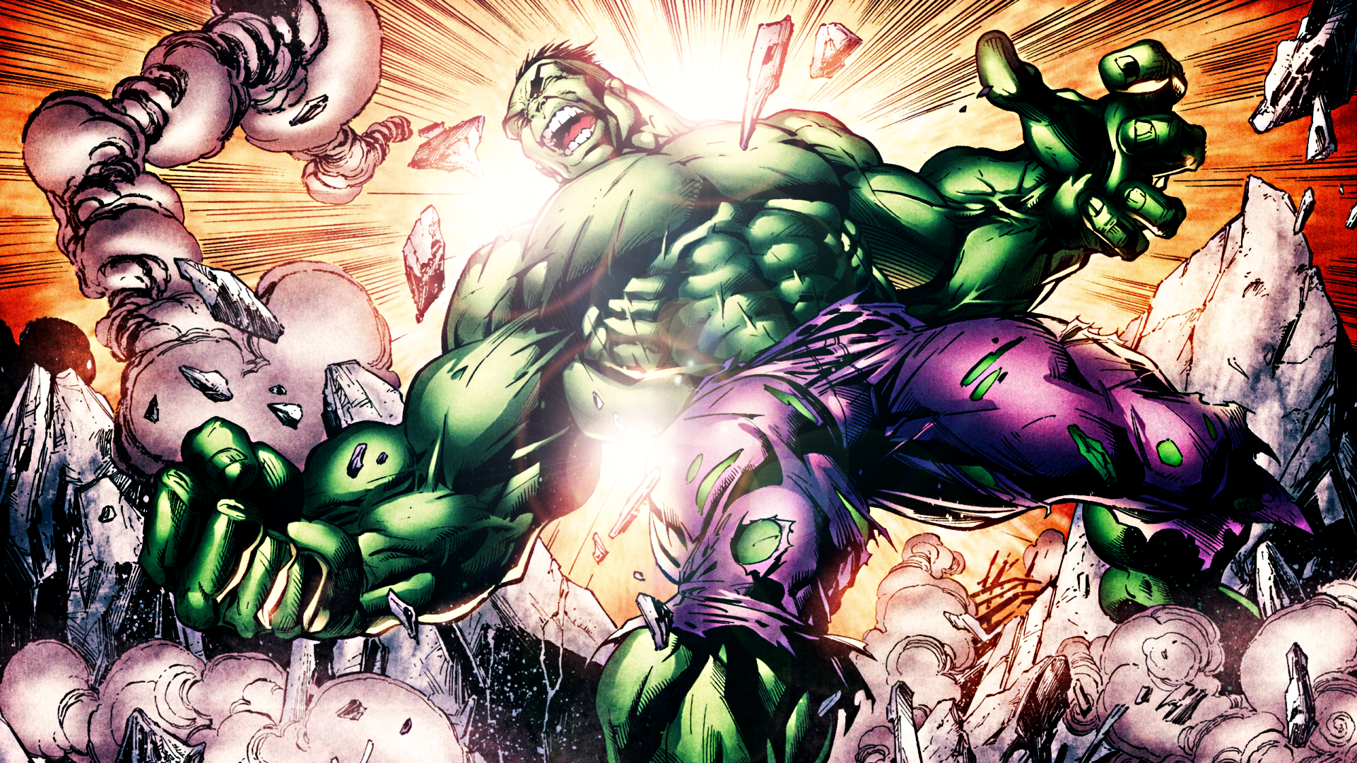 The Incredible Hulk by ProfessorAdagio