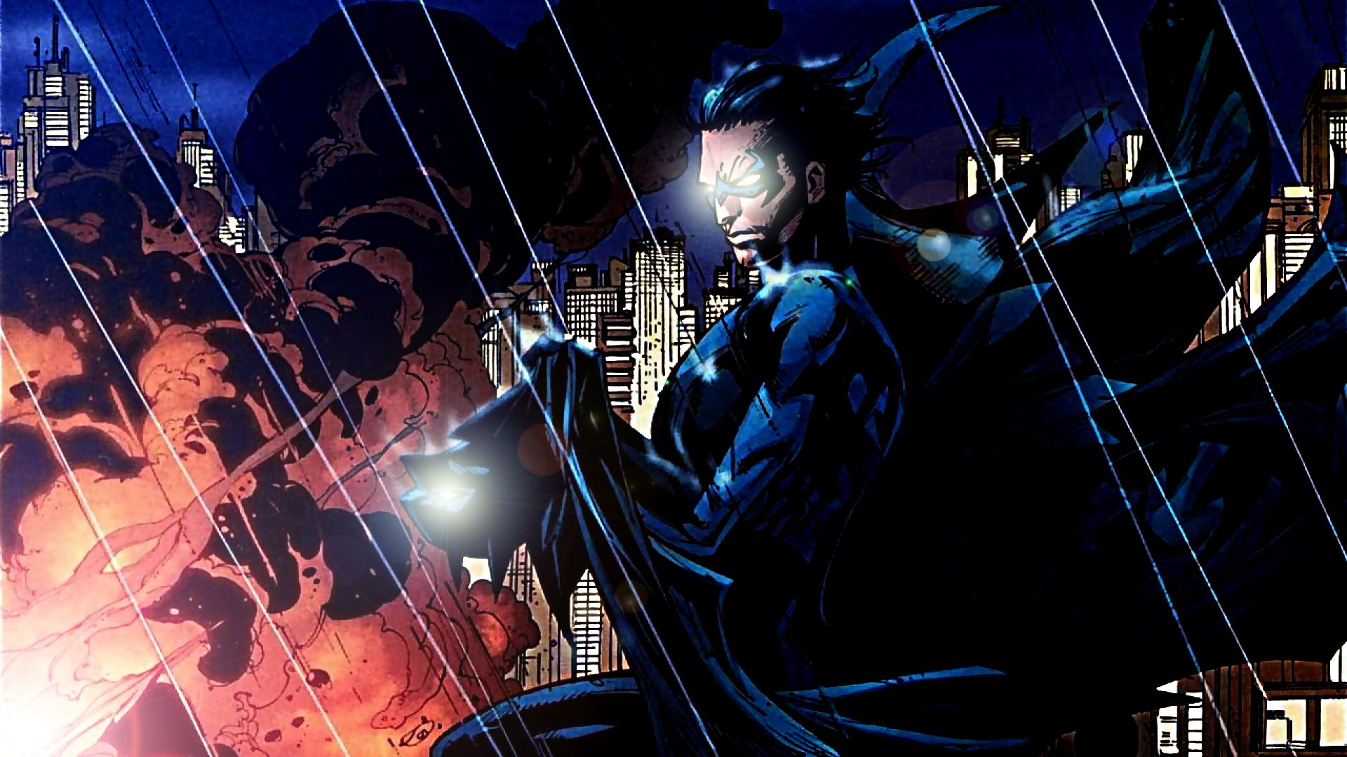 Nightwing by ProfessorAdagio