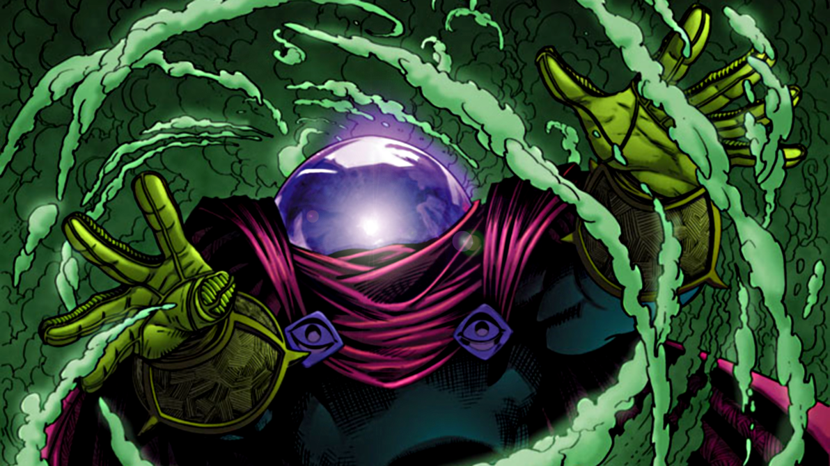 Mysterio by ProfessorAdagio