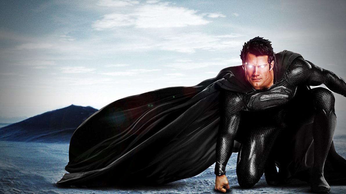 The Man Of Black Steel #2 by ProfessorAdagio