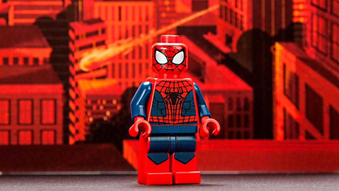 LEGO San Diego Comic Con 2013 Spider-Man by ProfessorAdagio