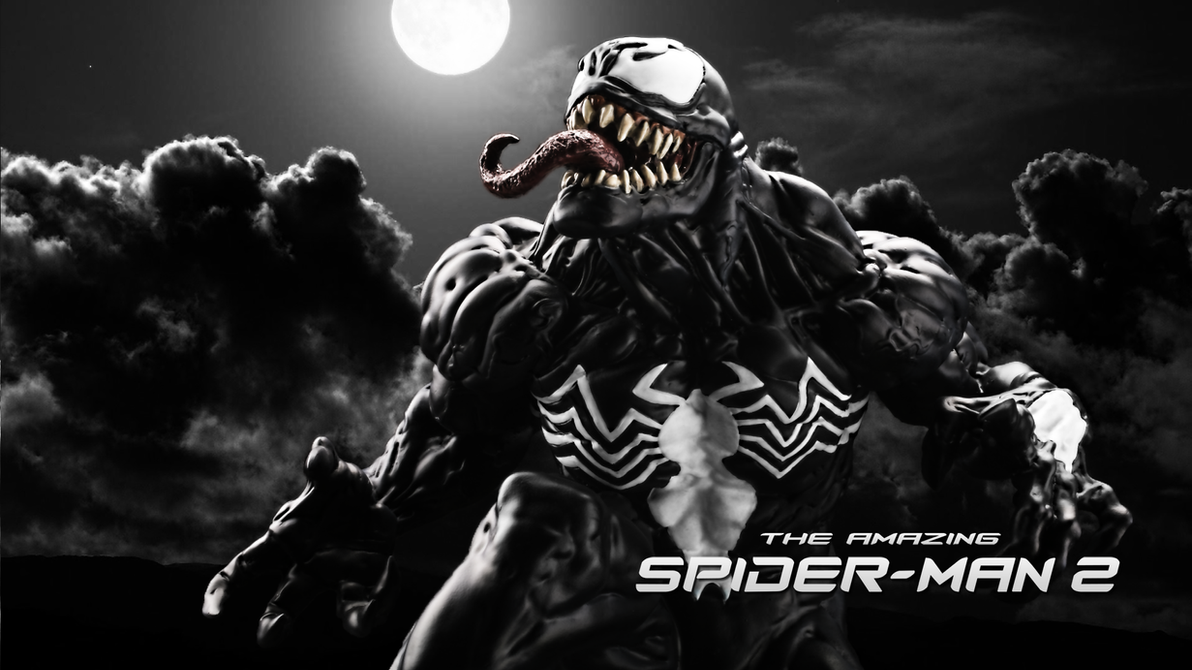 The Amazing Spider-Man 2 Venom Official Poster by ProfessorAdagio
