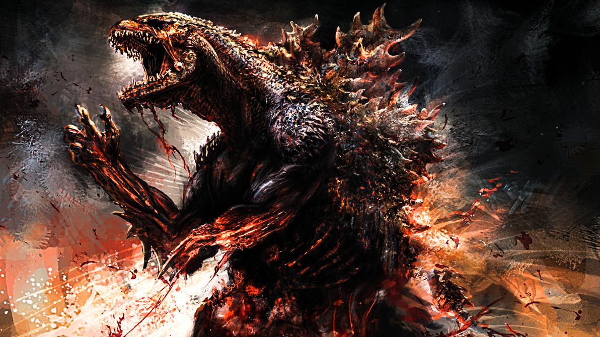 Godzilla #1 by ProfessorAdagio
