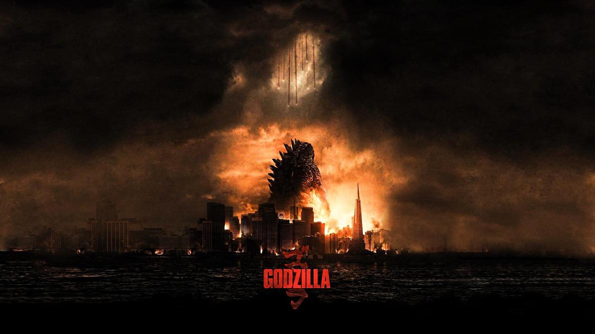 Godzilla #2 by ProfessorAdagio