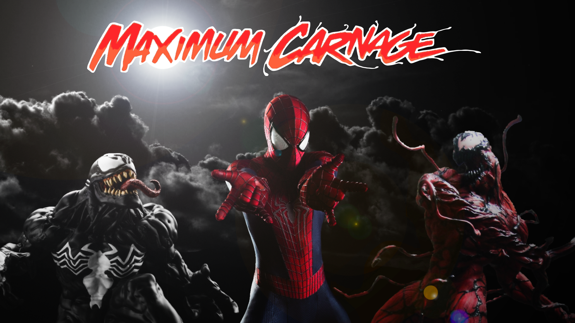 Spider-Man and Venom Maximum Carnage Poster #1 by ...