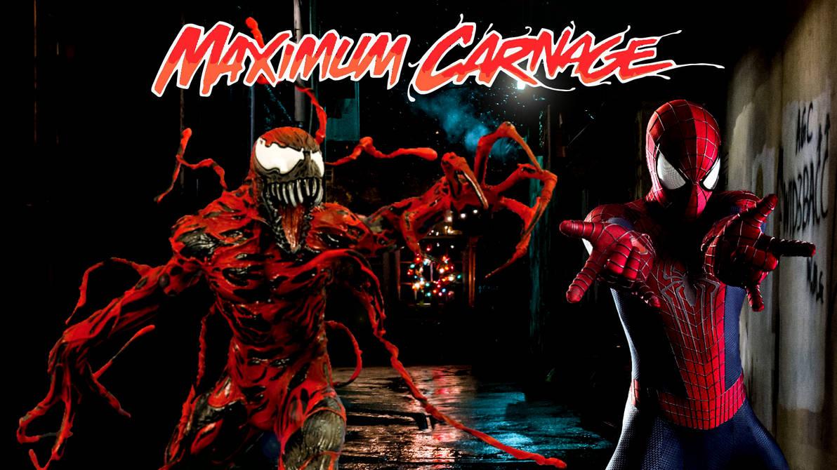 Spider Man And Venom Maximum Carnage Poster 2 By Professoradagio On
