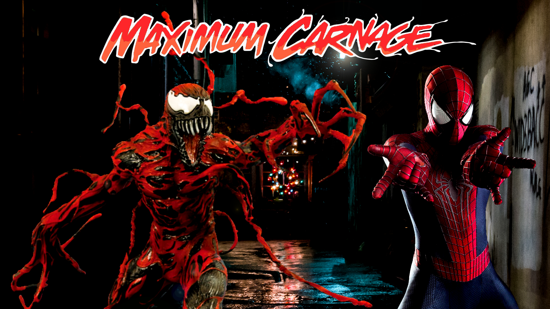 Spider-Man and Venom Maximum Carnage Poster #2 by ...