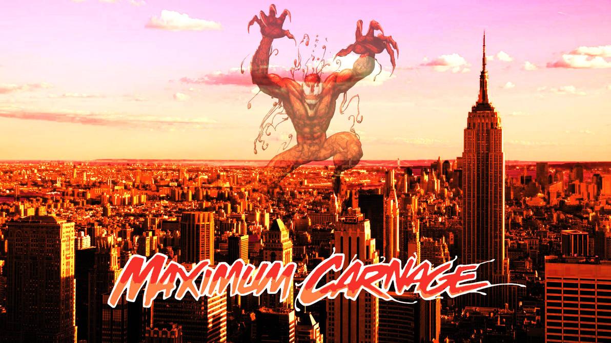 Maximum Carnage Cover Remake By Professoradagio On Deviantart