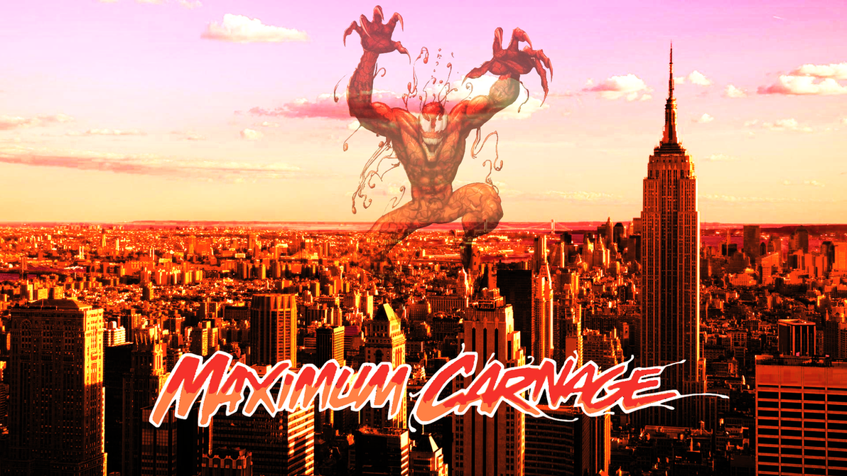 Maximum Carnage Cover Remake by ProfessorAdagio