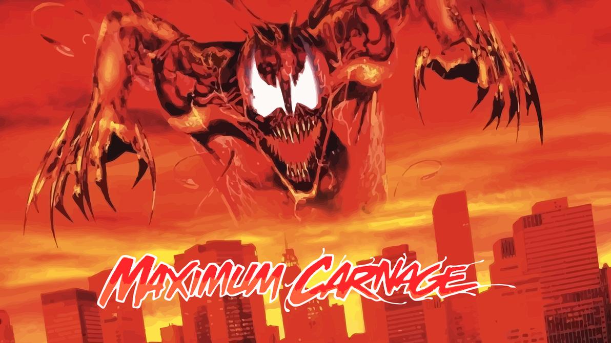 Maximum Carnage Official Poster Update by ProfessorAdagio