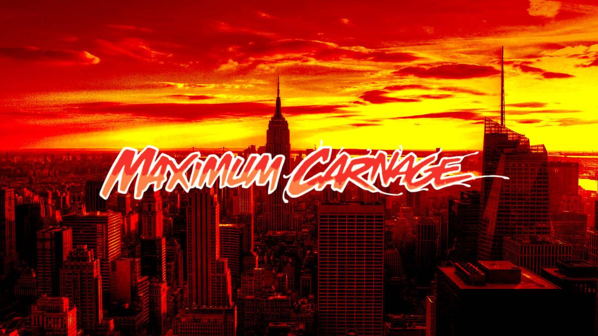 Maximum Carnage Cover No Carnage By Professoradagio On Deviantart
