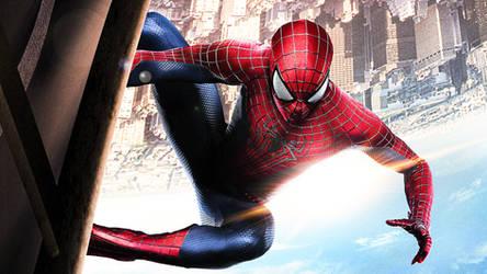 The Amazing Spider-Man 2 Movie Poster Wallpaper 4 by ProfessorAdagio